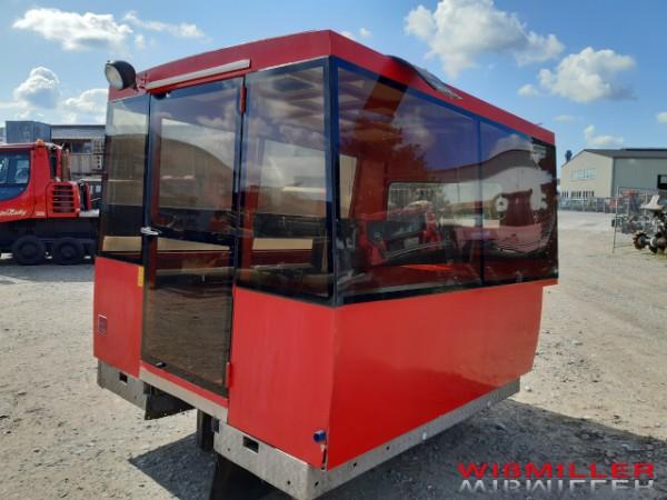 Personentransportkabine für Pistenraupe