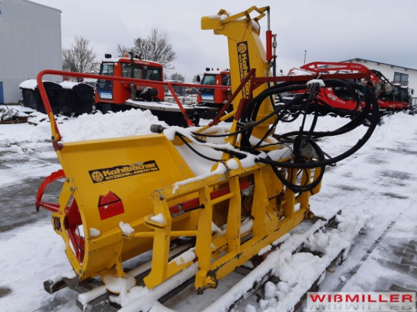 Kahlbacher Schneefräse, Schneeschleuder
